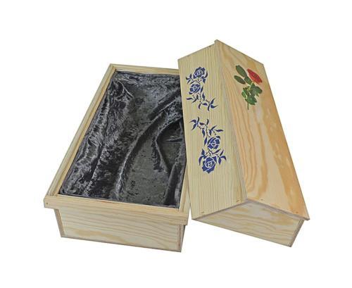 Katzensarg Holz mit Rosen